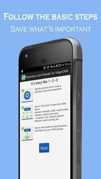Business Card Reader for Vtiger CRM poster