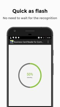 Business Card Reader for Zurmo CRM screenshot 3