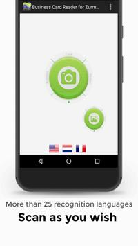 Business Card Reader for Zurmo CRM screenshot 2