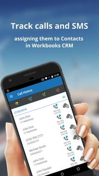 Workbooks CRM Call Tracker screenshot 1