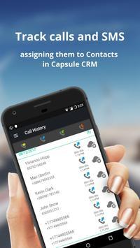 Capsule CRM Call Tracker screenshot 1