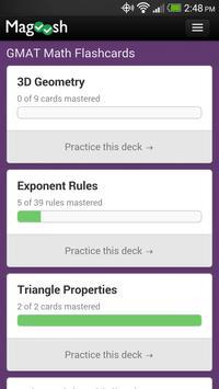 GMAT Math Flashcards 截图 1