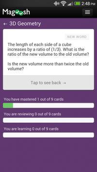 GMAT Math Flashcards 截图 3