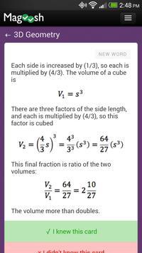 GMAT Math Flashcards 截图 4