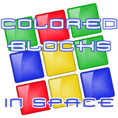 Colored Blocks... In Space! icon