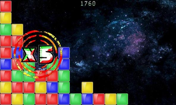 Colored Blocks... In Space! screenshot 4