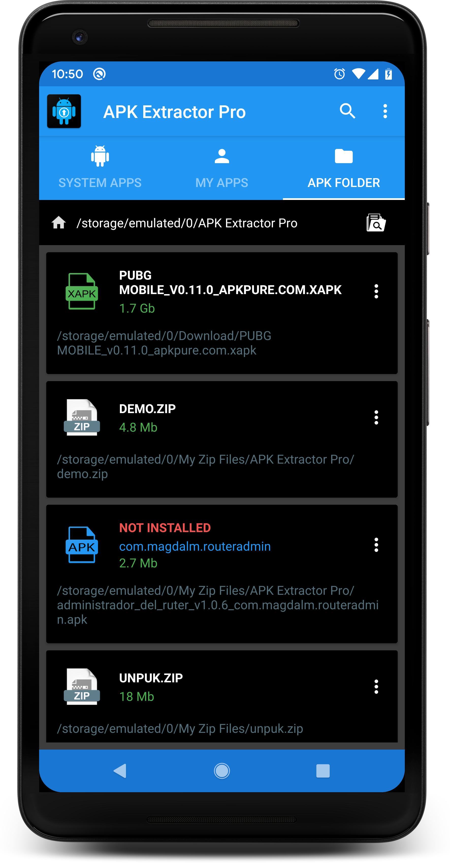 APK EXTRACTOR PRO for Android - APK Download