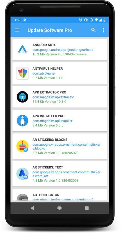 logiciel de mise À jour pro pour android - téléchargez l'apk
