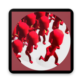 city in crowd - a popular wars (simulation) icon
