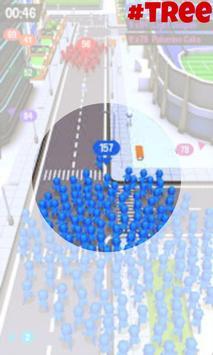 city in crowd - a popular wars (simulation) screenshot 2