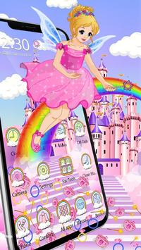 Magical Fairy Castle Gravity Theme poster