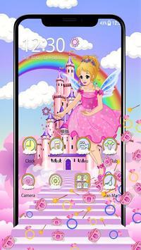 Magical Fairy Castle Gravity Theme screenshot 1