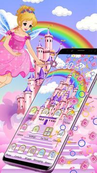 Magical Fairy Castle Gravity Theme screenshot 2