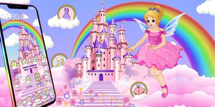 Magical Fairy Castle Gravity Theme screenshot 3