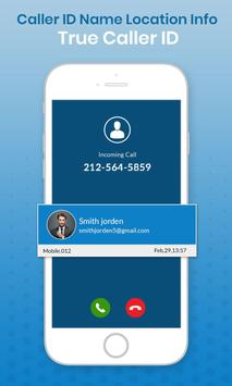 Caller ID Name &  Location Info: True Caller ID poster
