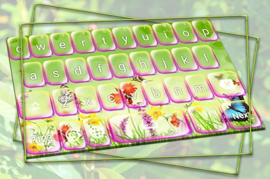 Magical Forest keyboard poster