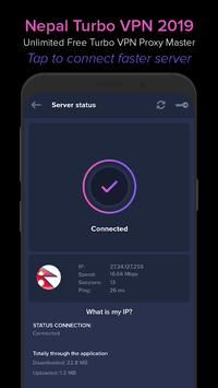 Nepal VPN 2019 - Unlimited Free VPN Proxy Master screenshot 3