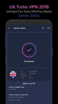 UK VPN 2019 - Unlimited Free VPN Proxy Master screenshot 3
