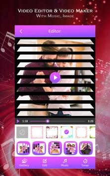 Video Editor & Video Maker with Music, Image poster
