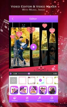 Video Editor & Video Maker with Music, Image screenshot 1