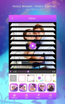 Video Maker - Video Editor with Effects poster