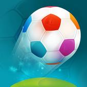 Euro Fußball 2020 (EM 2021) Europameisterschaft Zeichen