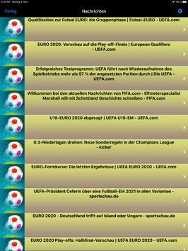 Euro Fußball 2020 (EM 2021) Europameisterschaft Screenshot 10
