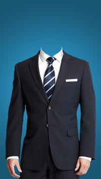 Man Formal Photo Suit Editor poster