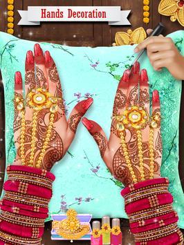 Royal Indian Wedding Rituals and Makeover Part 1 screenshot 10