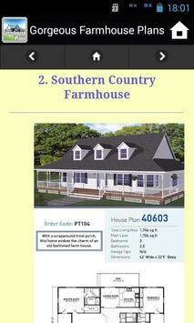 Gorgeous Farmhouse Plans screenshot 4