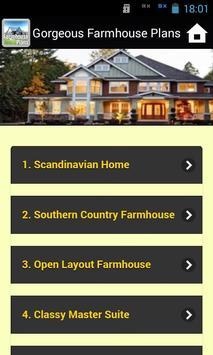 Gorgeous Farmhouse Plans screenshot 2