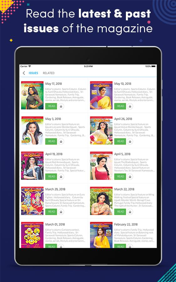 Andhra Bhoomi Weekly for Android - APK Download