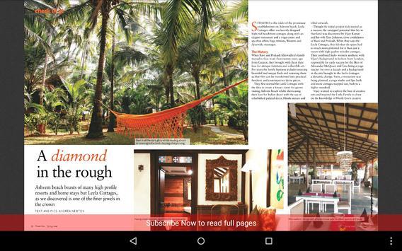 Planet Goa magazine screenshot 7