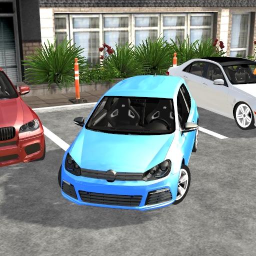 Car Parking: Driver View