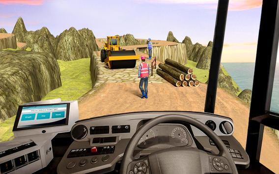 Offroad Bus Simulator 2019 screenshot 4