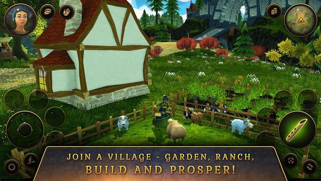 3D MMO Villagers & Heroes screenshot 4