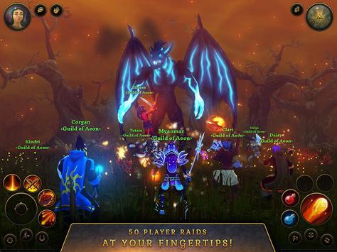 3D MMO Villagers & Heroes screenshot 8
