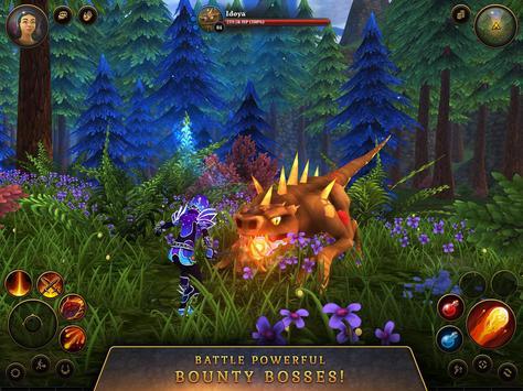3D MMO Villagers & Heroes screenshot 18