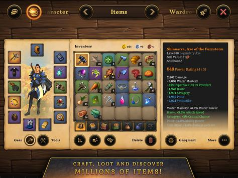 3D MMO Villagers & Heroes screenshot 19