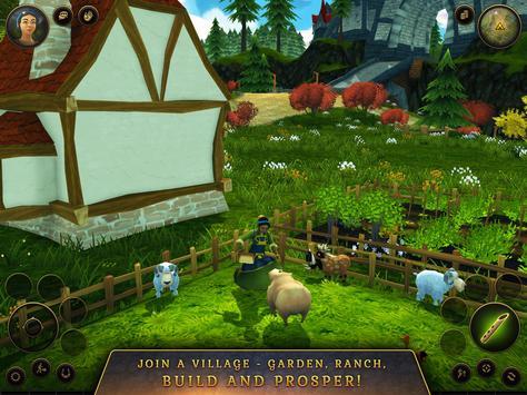 3D MMO Villagers & Heroes screenshot 17