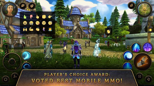 3D MMO Villagers & Heroes screenshot 1