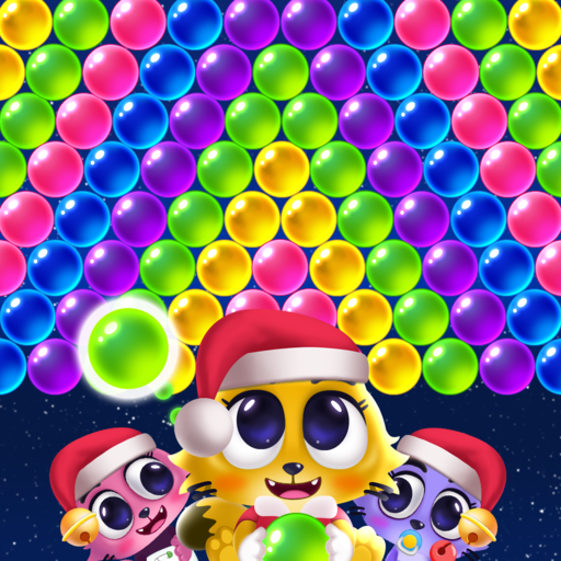 Download Space Cats Pop – Kitty Bubble Pop Games For Android