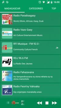 Madagascar Radio - Live FM Player screenshot 3