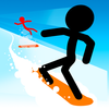 Stickman Snow Ride icono
