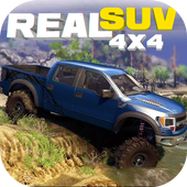 REAL SUV 4x4 : OFF-ROAD SIMULATOR icon