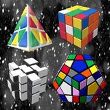 Magic Cubes of Rubik and 2048