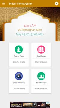 Waktu Sholat & Quran gönderen