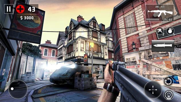 DEAD TRIGGER 2 - Arena Tempur Strategi FPS Zombie screenshot 2