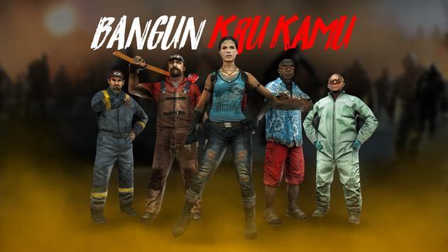 DEAD TRIGGER 2 - Arena Tempur Strategi FPS Zombie screenshot 4
