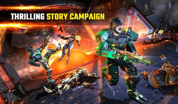 SHADOWGUN LEGENDS - FPS PvP Free Shooting Games screenshot 18